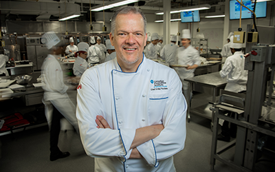 Chef Craig Youdale, Empty Bowls Fundraiser Judge