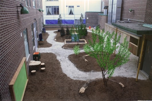 Bethlehem Housing & Support Services | Naturalized Playgrounds