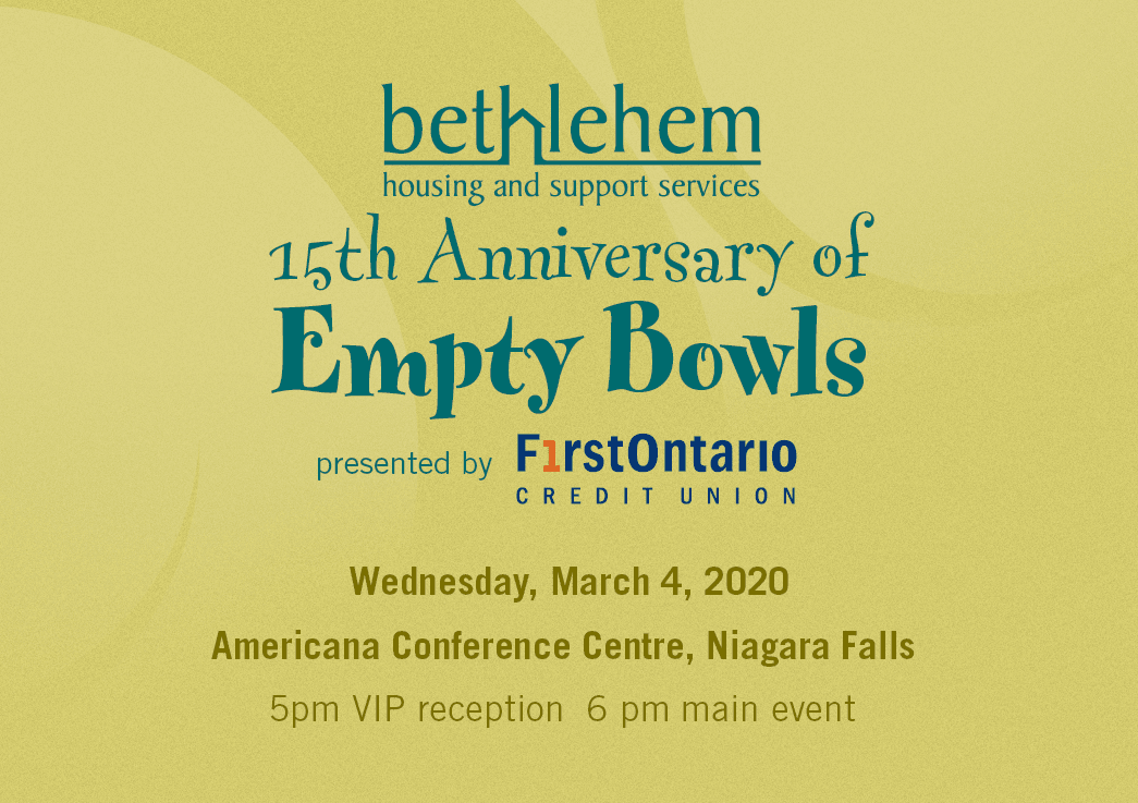 15th Anniversary of Empty Bowls Fundraiser