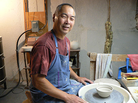 Chris Sora, Empty Bowls Potter, Niagara