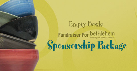 Sponsor Package, Empty Bowls Niagara